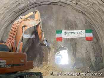 Galleria naturale dorsale Amatrice -Montereale completato lo scavo - Cronaca L'Aquila - Abruzzo24ore - abruzzo24ore.tv