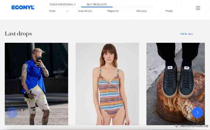 Aquafil startet neuen Econyl Webshop