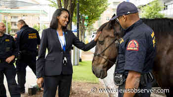 Raleigh Police chief meets community during National Night Out   Raleigh - Raleigh News & Observer