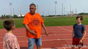 Bullied as a child, Indigenous coach Terry Crook now inspires young athletes on and off the track