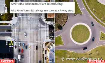 Australians mock comical inability of Americans to navigate roundabouts