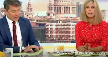GMB presenters Ben and Kate caught up in unfolding Olympic drama