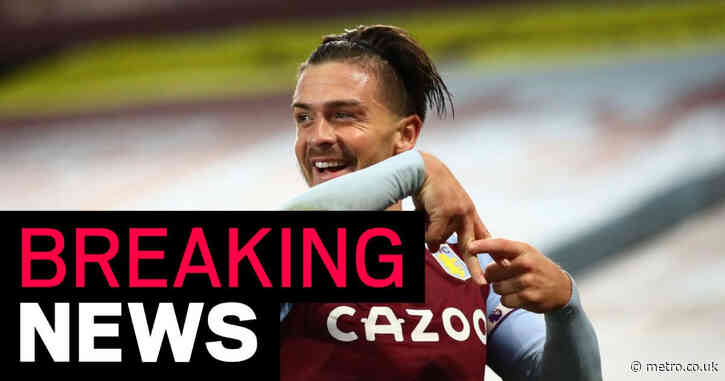 Manchester City to complete British record £100 million Jack Grealish signing today