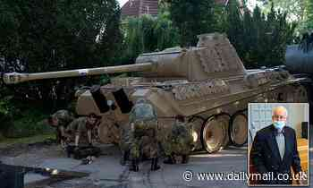 German pensioner is fined £200,000 for keeping a WWII TANK and AA gun among huge arsenal at home