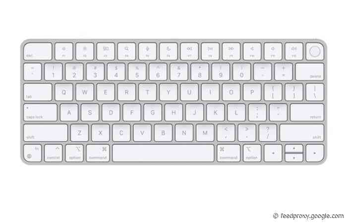 Apple Keyboard with Touch ID now available separately from $149