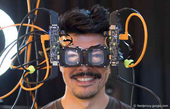 VR headset reverse passthrough demonstrated by Facebook researchers