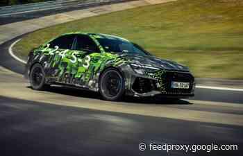 Audi RS 3 sets lap record on Nürburgring Nordschleife