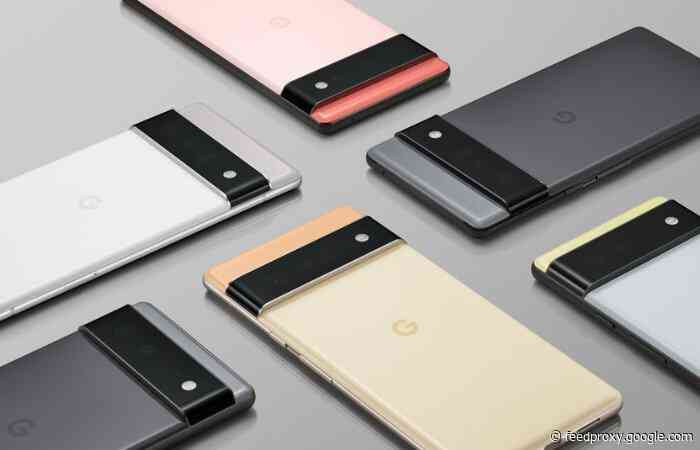 Google Pixel 6 and Pixel 6 Pro phones officially launch