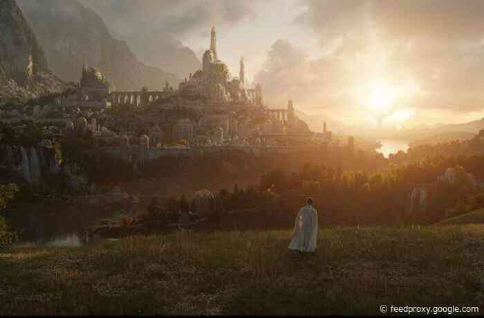 Amazon's Lord of the Rings series will arrive on September 2, 2022