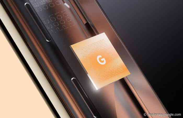 Google Tensor mobile processor officially launches