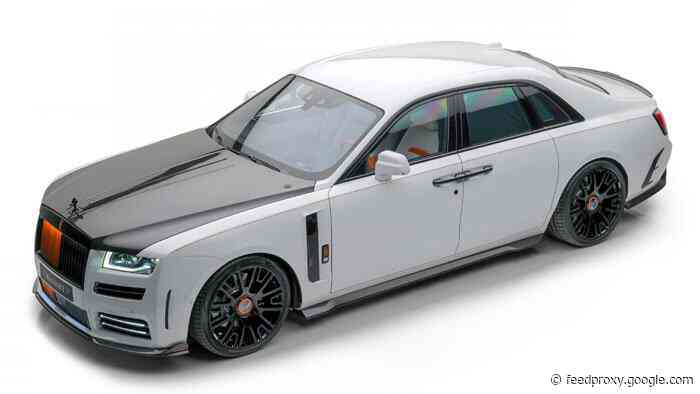 Mansory Ghost is a thoroughly revised Rolls-Royce Ghost V12
