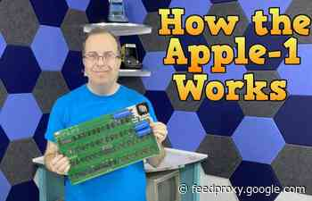 Building an Apple 1 computer from scratch