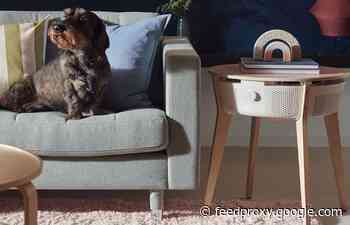 New IKEA Starkvind coffee table smart air purifier