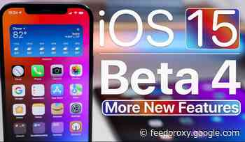 iOS 15 Beta 4 : more new features demonstrated