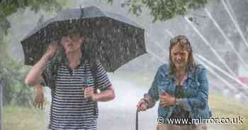 Met Office issues 9-hour warning for rain to lash UK today - see list of areas