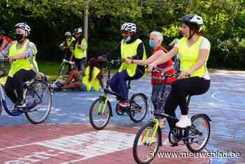 Eerste reeks fietslessen voor volwassenen volzet