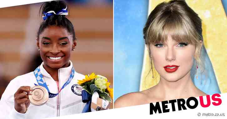 Simone Biles in tears over Taylor Swift's emotional message for her: 'She's perfectly human'