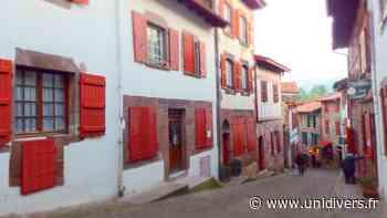 Excursion à Saint jean Pied de Port Eugénie-les-Bains dimanche 22 août 2021 - Unidivers