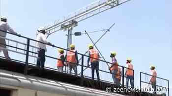 Electrification of Banihal-Baramulla railway track 70% complete, to meet March 2022 deadline