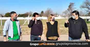 Ahumada y Gribaudo visitaron el Club Argentino de Merlo - Grupo La Provincia