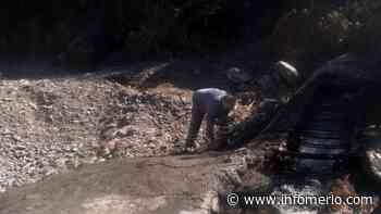 Villa de Merlo: Se realizó la limpieza y reparación de la toma de agua del arroyo El Molino - Infomerlo.com