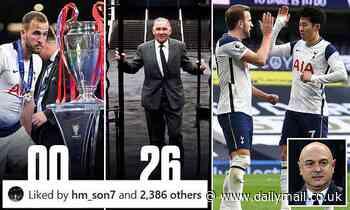 Harry Kane: Son Heung-min appears to 'like' a Tottenham fan post relating to striker's future