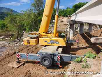 Avanza construcción de puente de Corinto, la obra presenta un 80% de avance - Enfoque Informativo