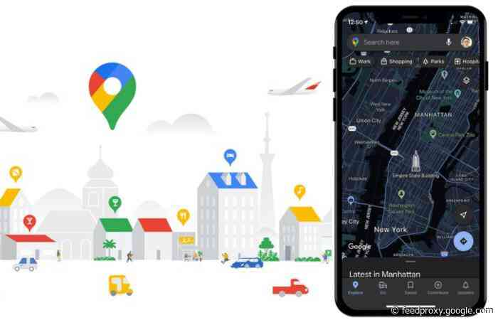 Google Maps iOS app updated with new features for post pandemic travel