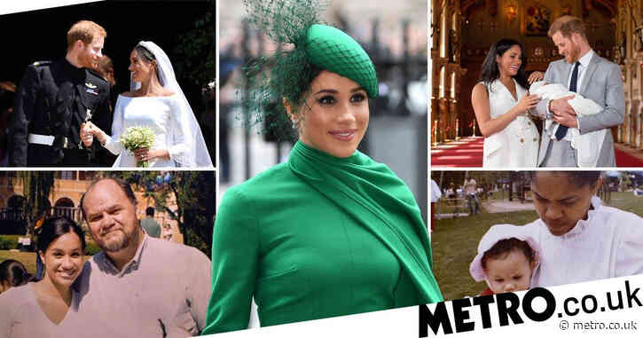 Meghan Markle's life in pictures as duchess celebrates 40th birthday