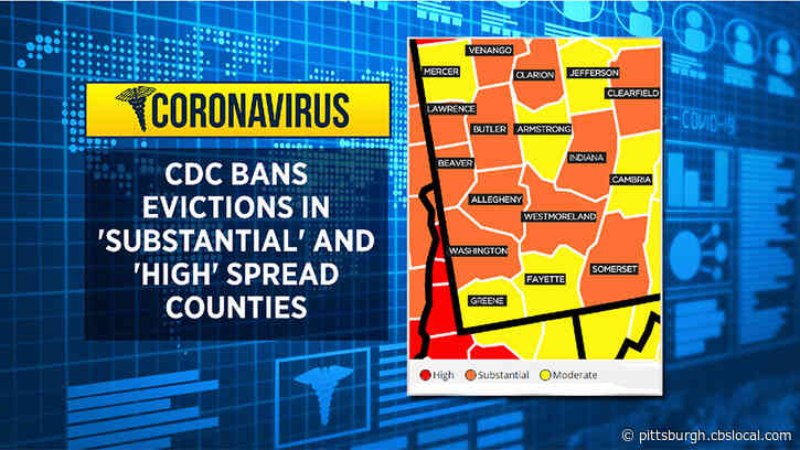CDC Issues Eviction Ban On Areas With 'Substantial Or High' Transmission Of COVID-19
