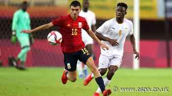 Messi + Ronaldo = Pedri. Spain star plays more than both combined