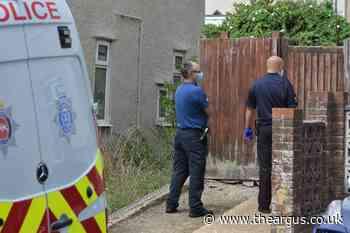 Police investigate deliberate garden fire in Royal Sussex Crescent