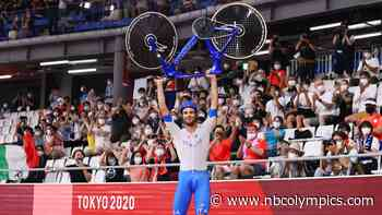 Italy sets world record in team pursuit cycling to stun Denmark - NBC Olympics
