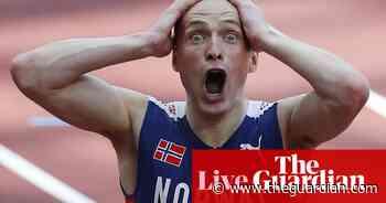 Tokyo 2020 Olympics: 400m hurdles, gymnastics and cycling – as it happened - The Guardian