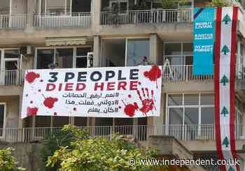 Protestors in Lebanon call for justice on one year anniversary of deadly explosion