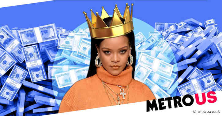 Rihanna is officially a billionaire now thanks to her Fenty fortune