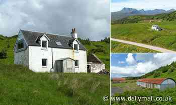 Highlands Shepherd's cottage with NO electricity in need of renovation goes up for sale for £250,000
