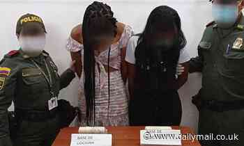 Colombian waddling powder: Two women are caught smuggling cocaine hidden in their genitals