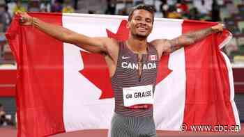 Andre De Grasse wins Olympic gold in men's 200m final