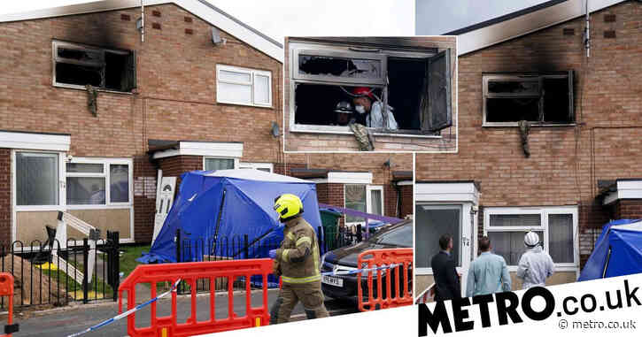 Teen arrested on suspicion of arson after man dies and woman injured in house fire