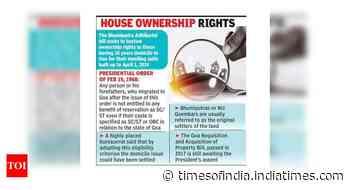 New bhumiputras will deprive Goans of jobs based on cert: Cong - Times of India