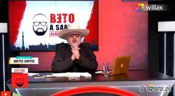 """""""Así hay que ir a los quinceañeros"""": Beto Ortiz sobre el traje de Pedro Castillo - Libero.pe"""