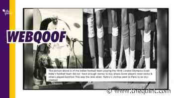 No, Lack of Funds Wasn't Why India Played Football Barefoot in 1948 Olympics - The Quint