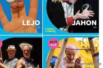 Pastorij Olmen pakt uit met circusvoorstellingen op zondag - Het Nieuwsblad