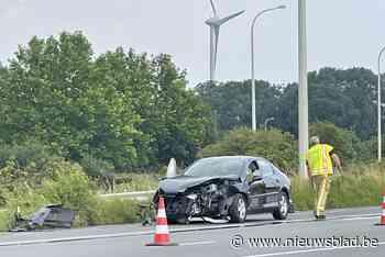 Ongeval zorgt voor hinder op drukke verkeersader