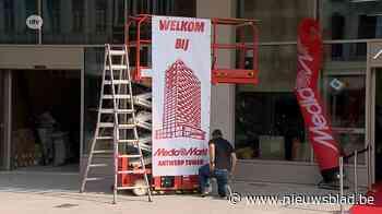 Mediamarkt opent winkel in Antwerp Tower