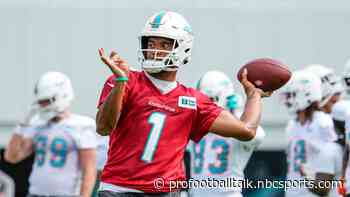 Brian Flores: I think Tua Tagovailoa is taking more shots downfield