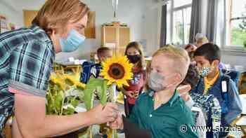 Einschulung in Rendsburg: Mit Corona-Test und Maske: Erstklässler starten an der Grundschule Neuwerk | shz.de - shz.de