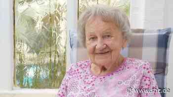 Rendsburg: Fit mit 100: Hildegard Erichsen geht täglich spazieren und sonntags zum Kaffeeklatsch | shz.de - shz.de