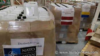 Coronavirus response: NATO delivers disinfectant to Ukraine - Mirage News